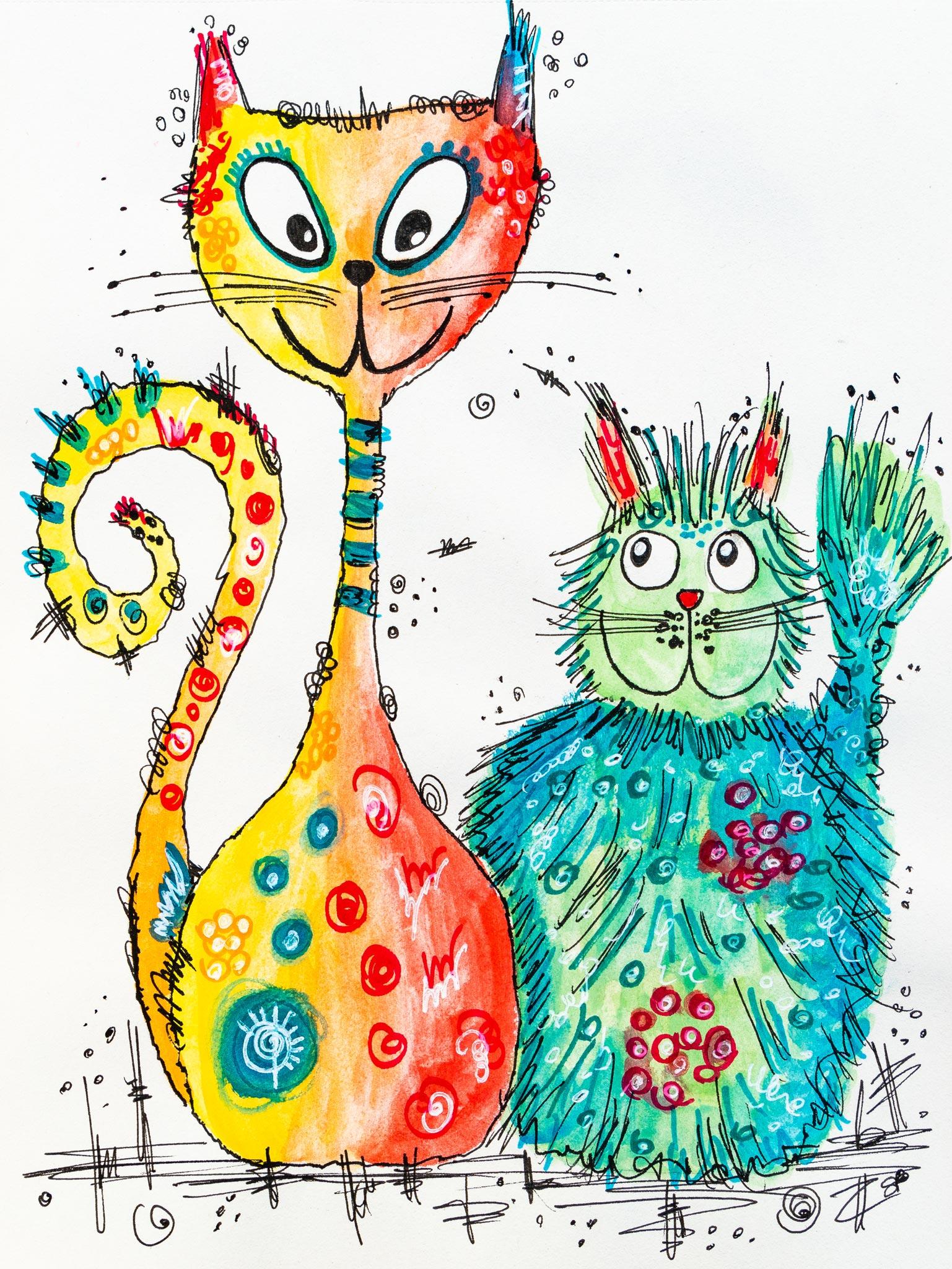 Katz und Katze