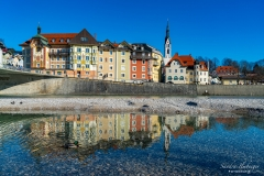 Altstadt Bad Tölz mit Isar