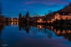 Wolfratshausen bei Nacht