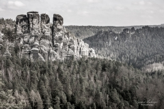 Über den Wäldern Sachsens