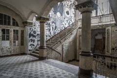 Pompöses Treppenhaus