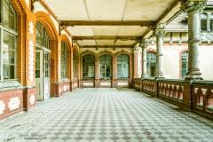 Veranda des Sanatoriums