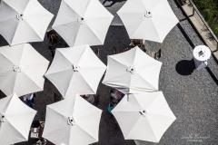 Wir machen das mit den Schirmchen